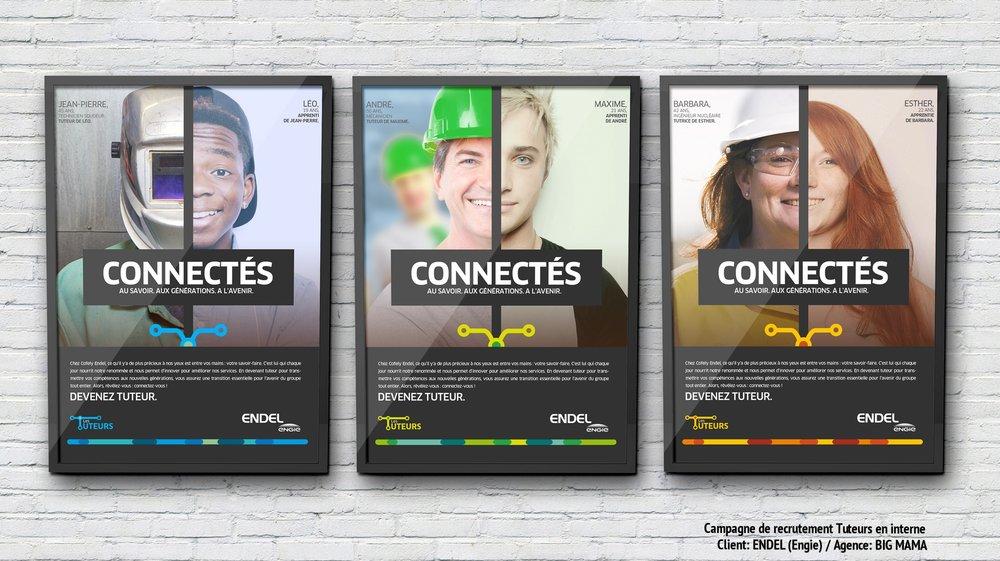 Campagne de recrutement interne     (Tutorat)   Client:  ENDEL (/ENGIE) / Agence:  BIG MAMA