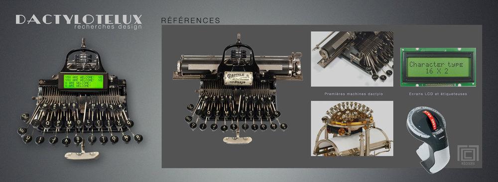 Concept de machine de communication low-tech permettant de transcrire des mots en signaux lumineux.
