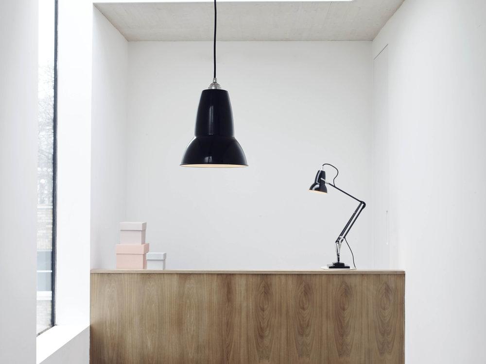 Rachel Usher Interior Design Anglepoise Lamp