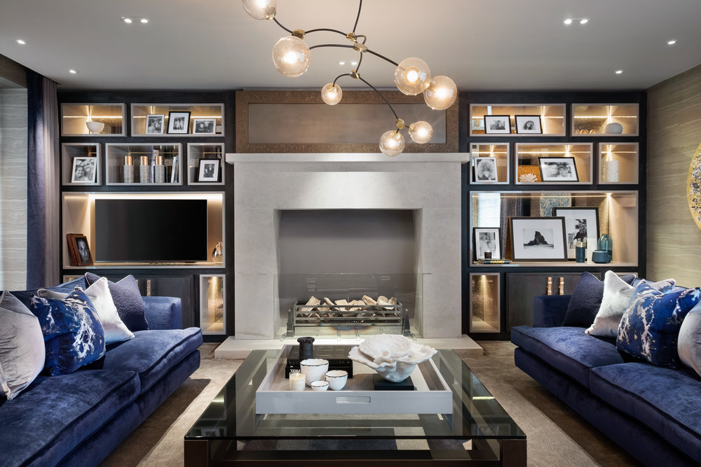 new reflections - Residential Project - Living space