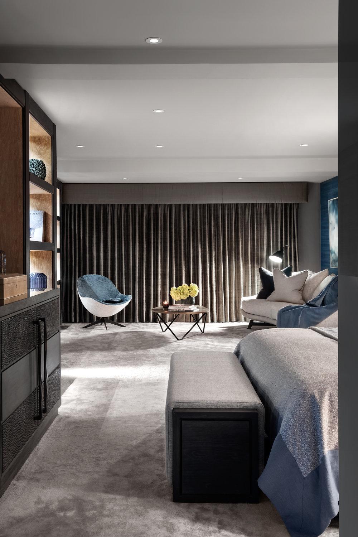 Rachel Usher Interior Design Master Bedroom Suite