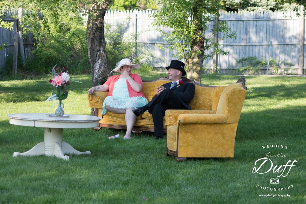 Stoney Creek Metropark – Vintage Wedding Photo