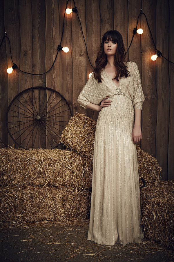 Jenny Packham Montana Gown in Barley