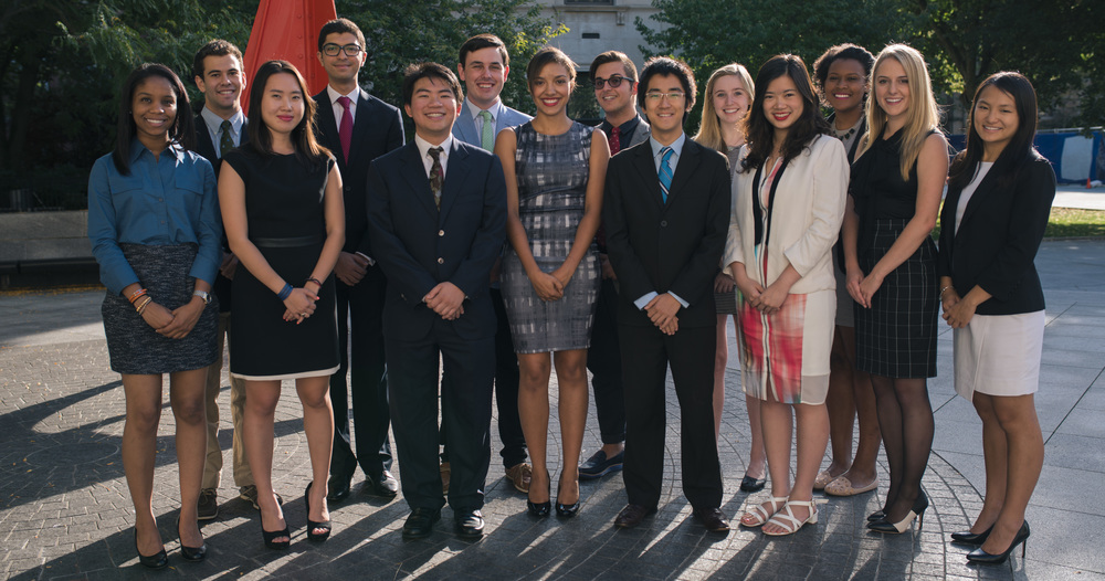 The Yale International Relations Association Executive Board '15-'16