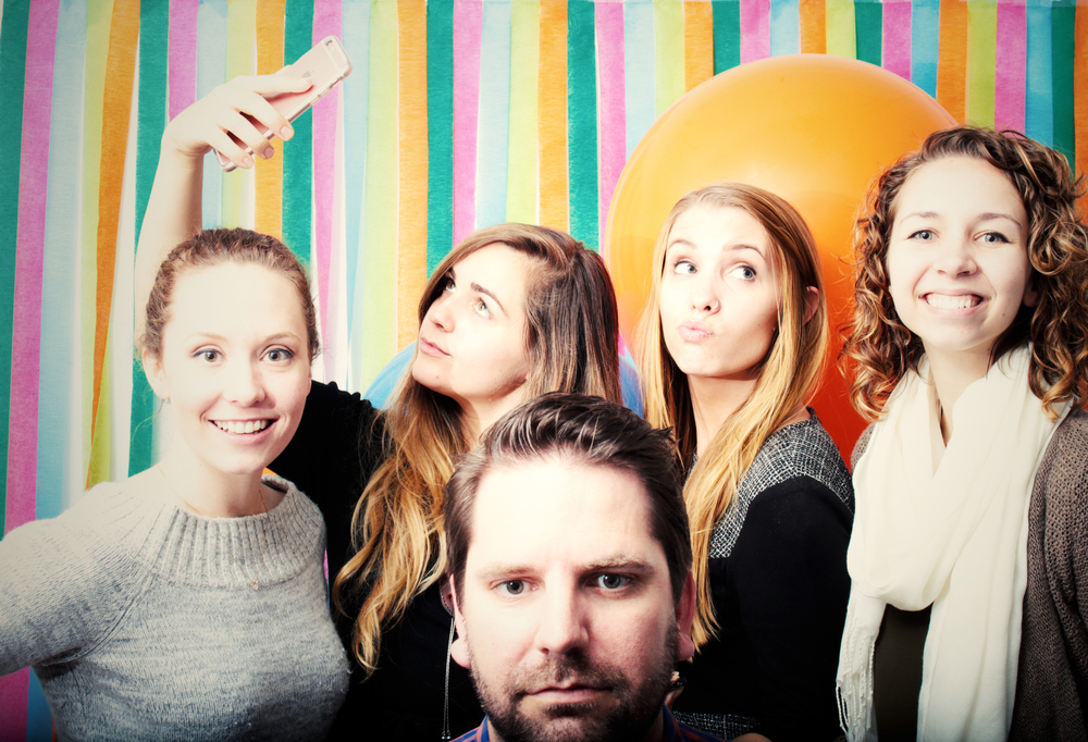 Team Rainbow Designs: Kat, Me, Chris, Rachel & Slater aka Amy.