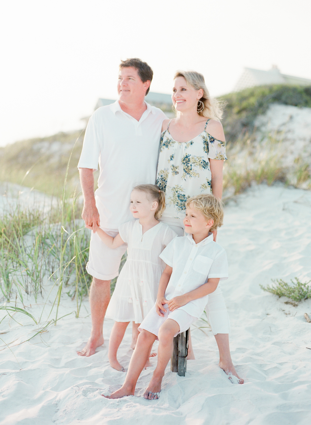 30a family beach pictures | Kaylie B. Poplin Photography | Watercolor, Florida family and wedding photographer