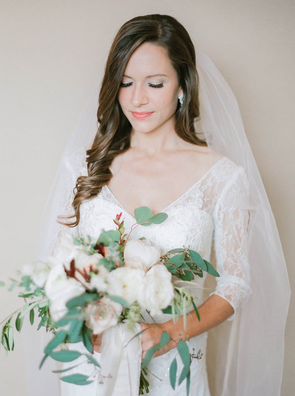 Victoria Austin Designs Wedding Bouquet | Intimate Crestview Florida Wedding | Jennifer Blair Photography