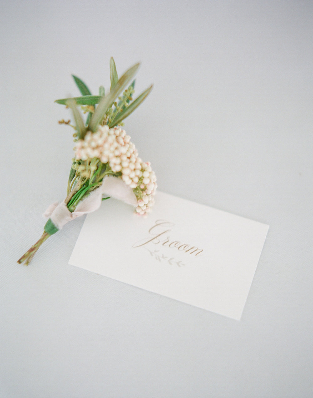 Southern Calligraphy | Intimate Florida Wedding | Jennifer Blair Photography