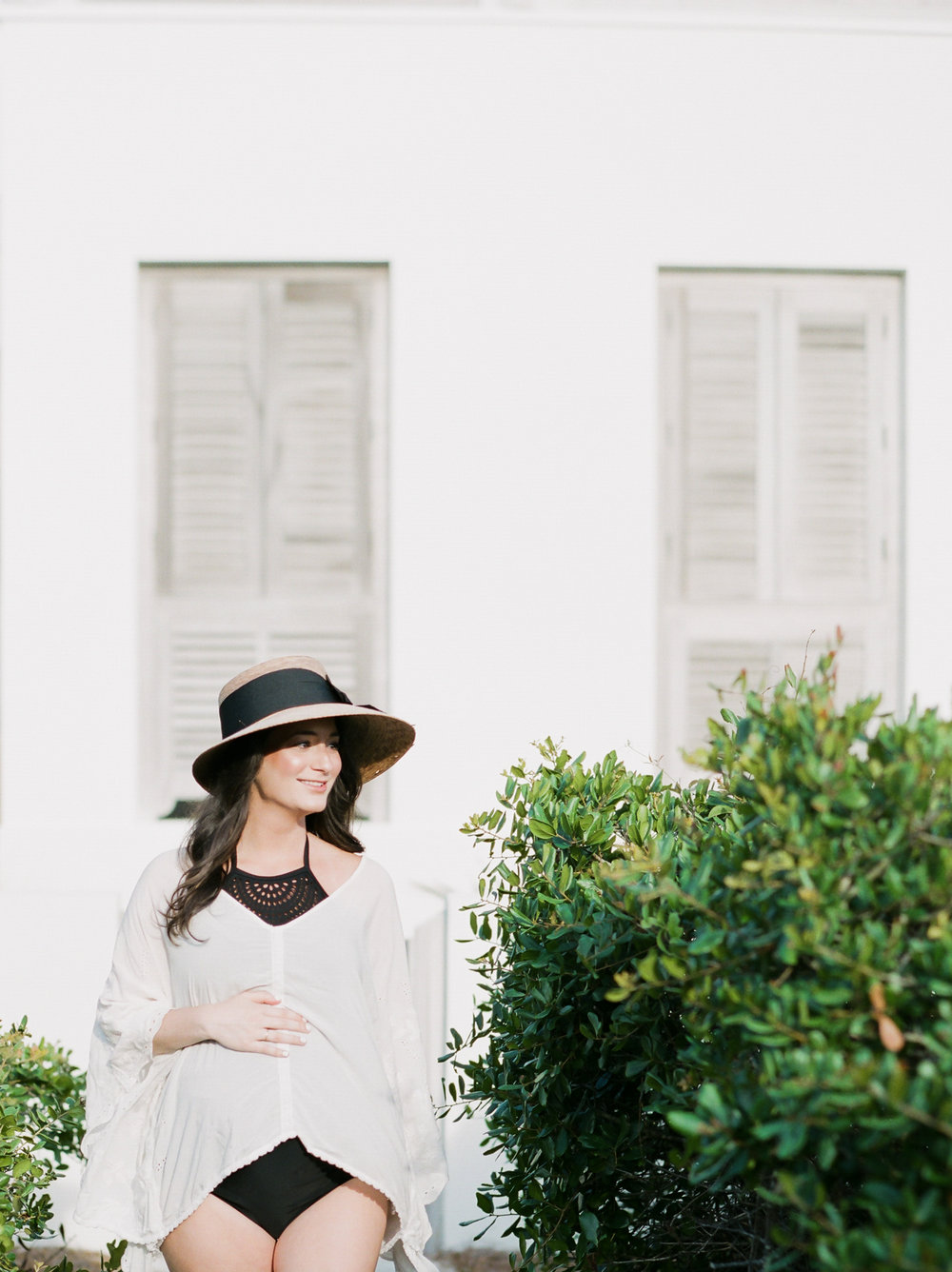 seaside maternity picture rosemary beach fl wedding photographers