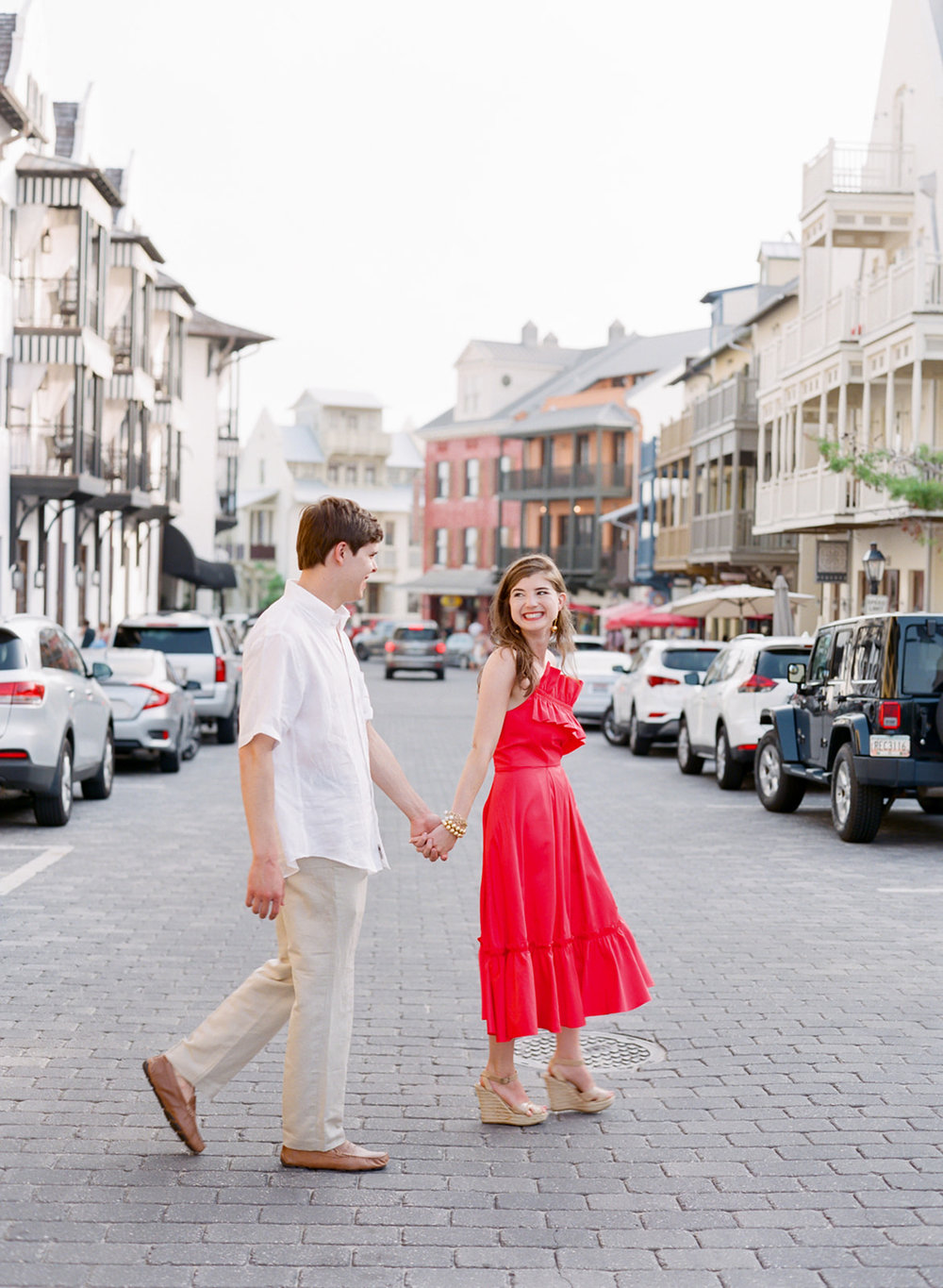 rosemary beach engagement photos