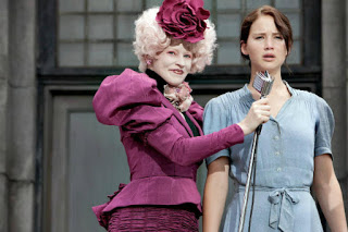 scene from The Hunger Games