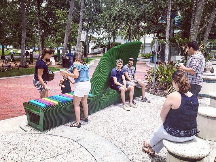 WHY SIT WHEN YOU CAN PLAY Client: City of Fort Lauderdale Completed: March 2016