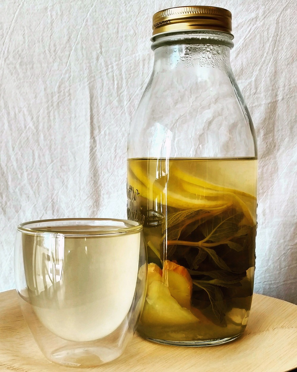 Lemonginger mint water
