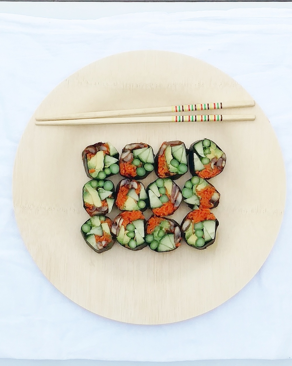 no rice vegan sushi