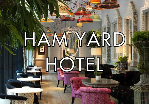 Ham Yard Bar | Sun - Thurs | Total bill | 4 people max per Nightkey