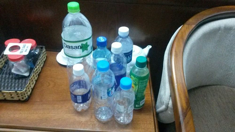 Just a fraction of the amount of bottled water consumed during a weeklong trip to Vietnam.