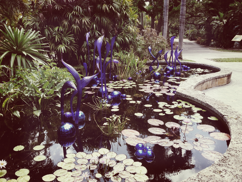 Chihuly Art/Fairchild Botanical Gardens