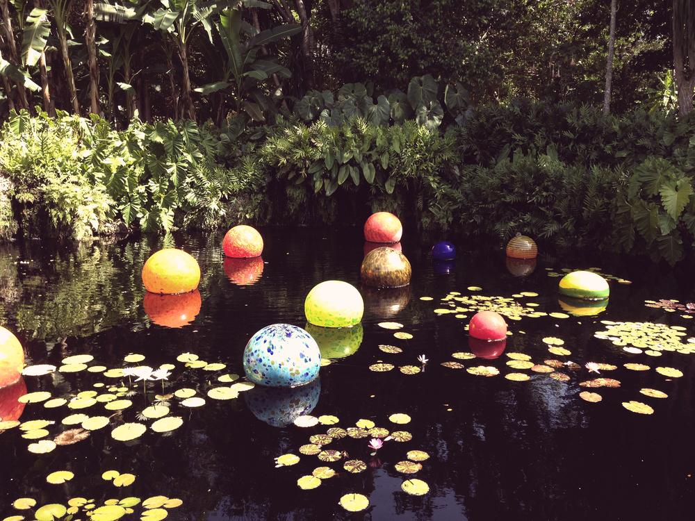 Chihuly Art/Fairchild Botanical Gardens