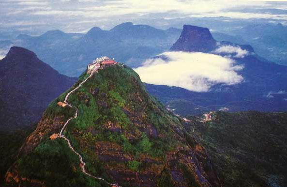 Sri Pada or Adam's Peak ( More image here )