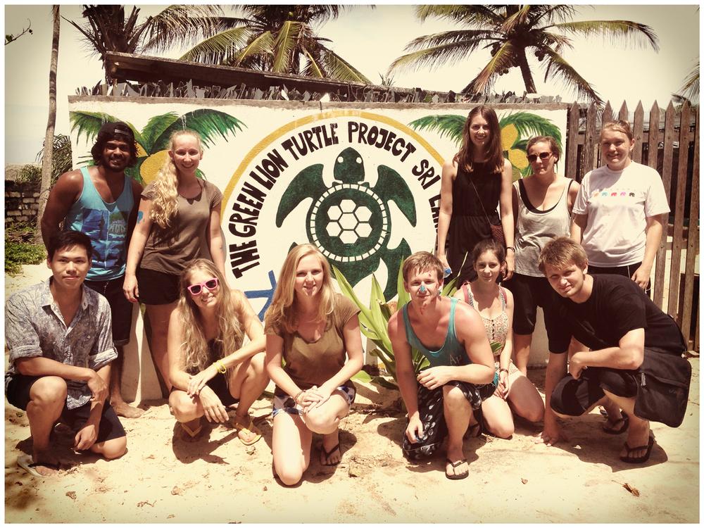 Group Photo: Easy, Isuru, Ellen, Me, Lianne, Coffy, Elodie, Kirsty, Kirsten, Theo and Hanne