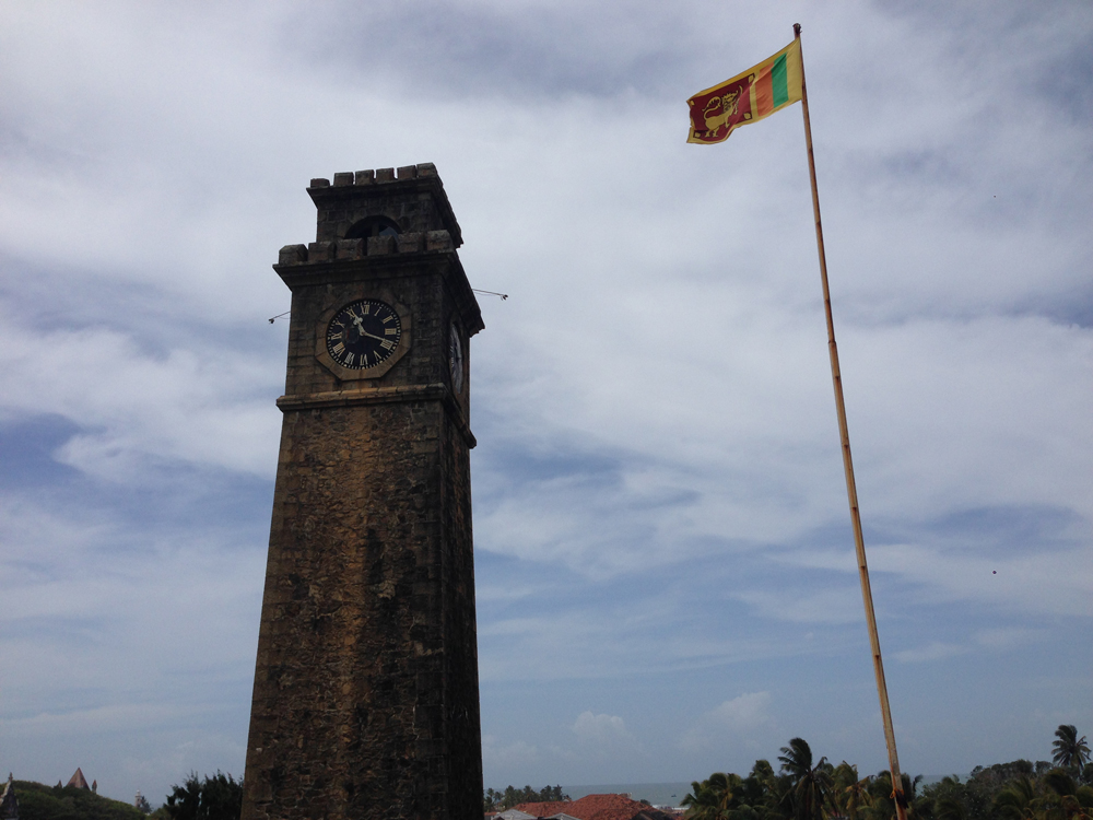 Clocktower built in 1882