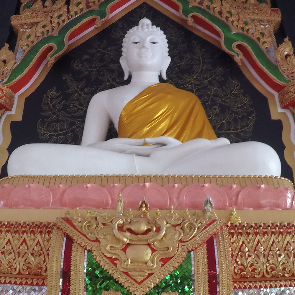 The Buddha inside the Sala