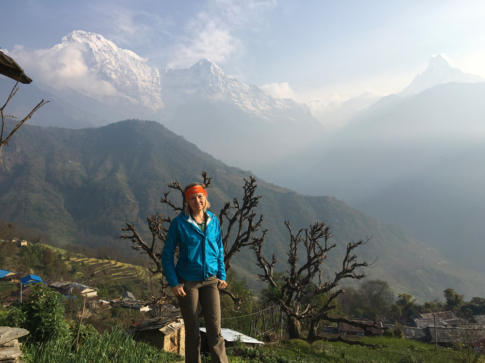 The amazing view from Ghandruk