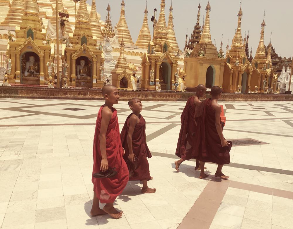 Shwedagon Pagoda Complex