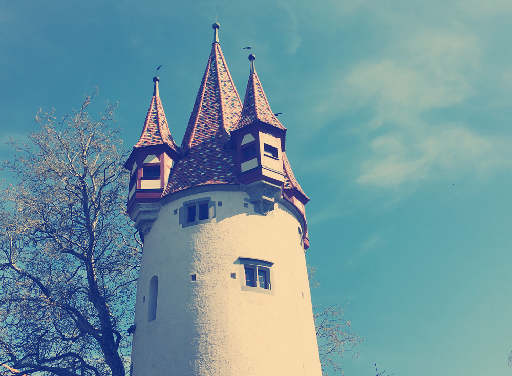fairytale tower in Lindau