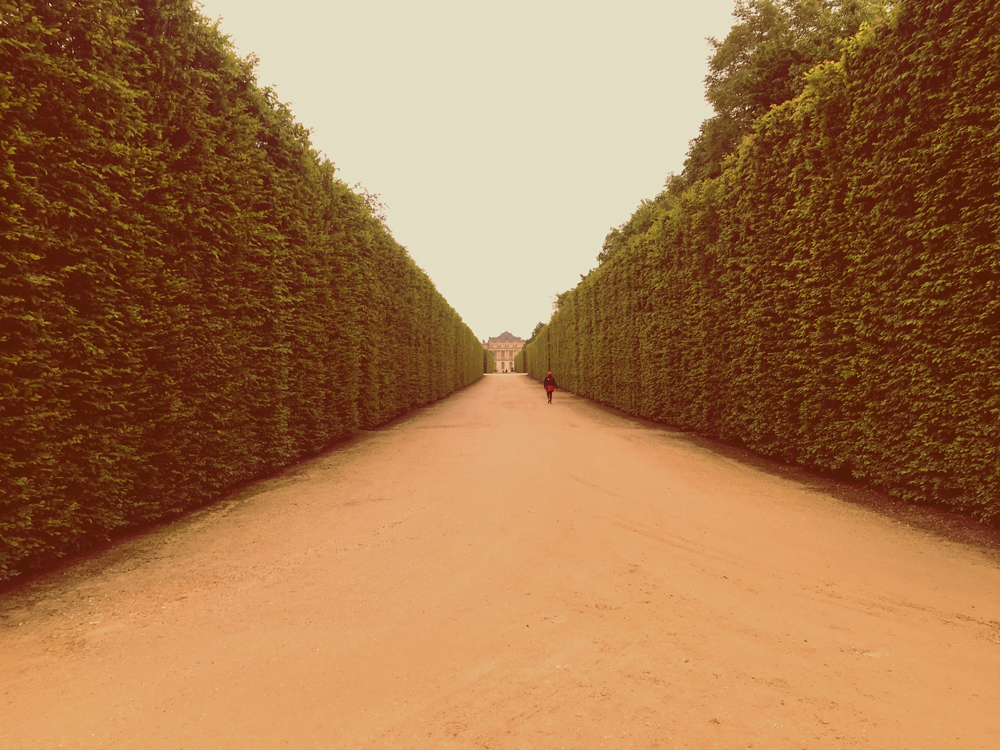 Everything makes you feel small in Versailles