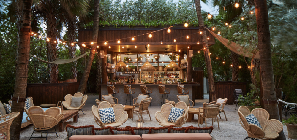 Soho Beach House's new pool & beach side grill