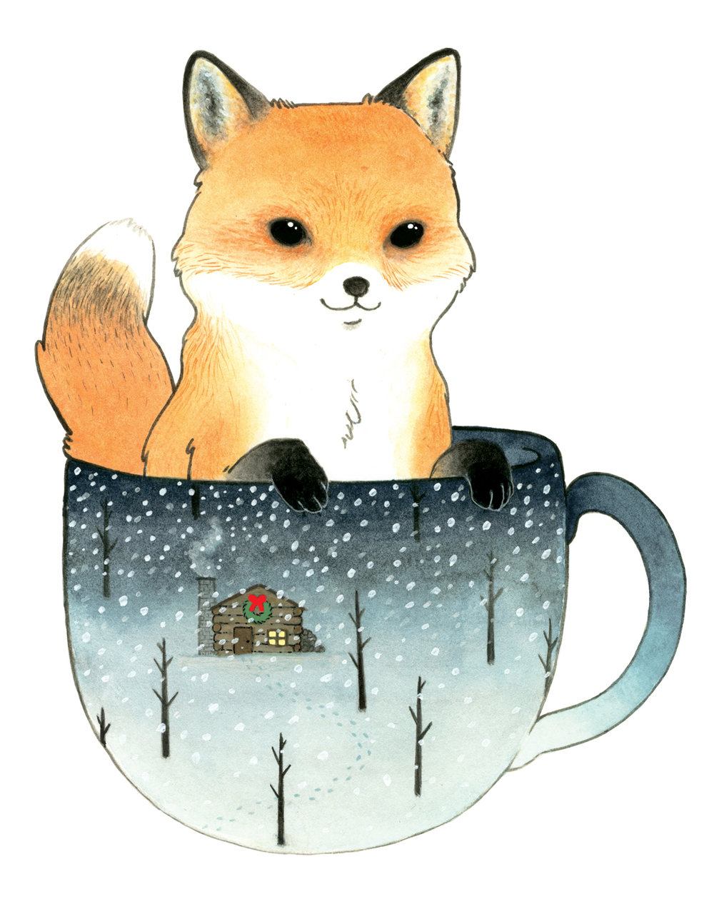 Fox in a Teacup