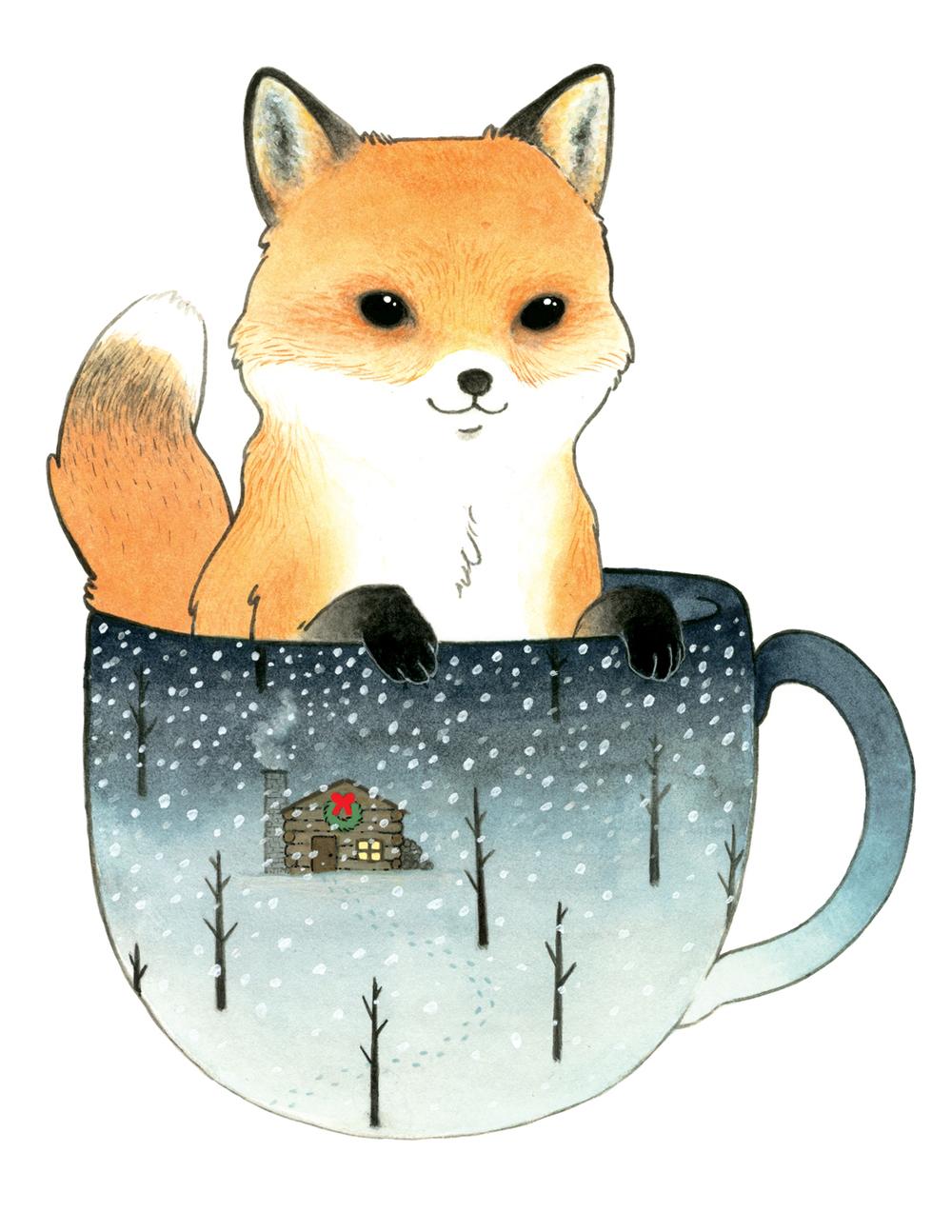 Fox in a Teacup