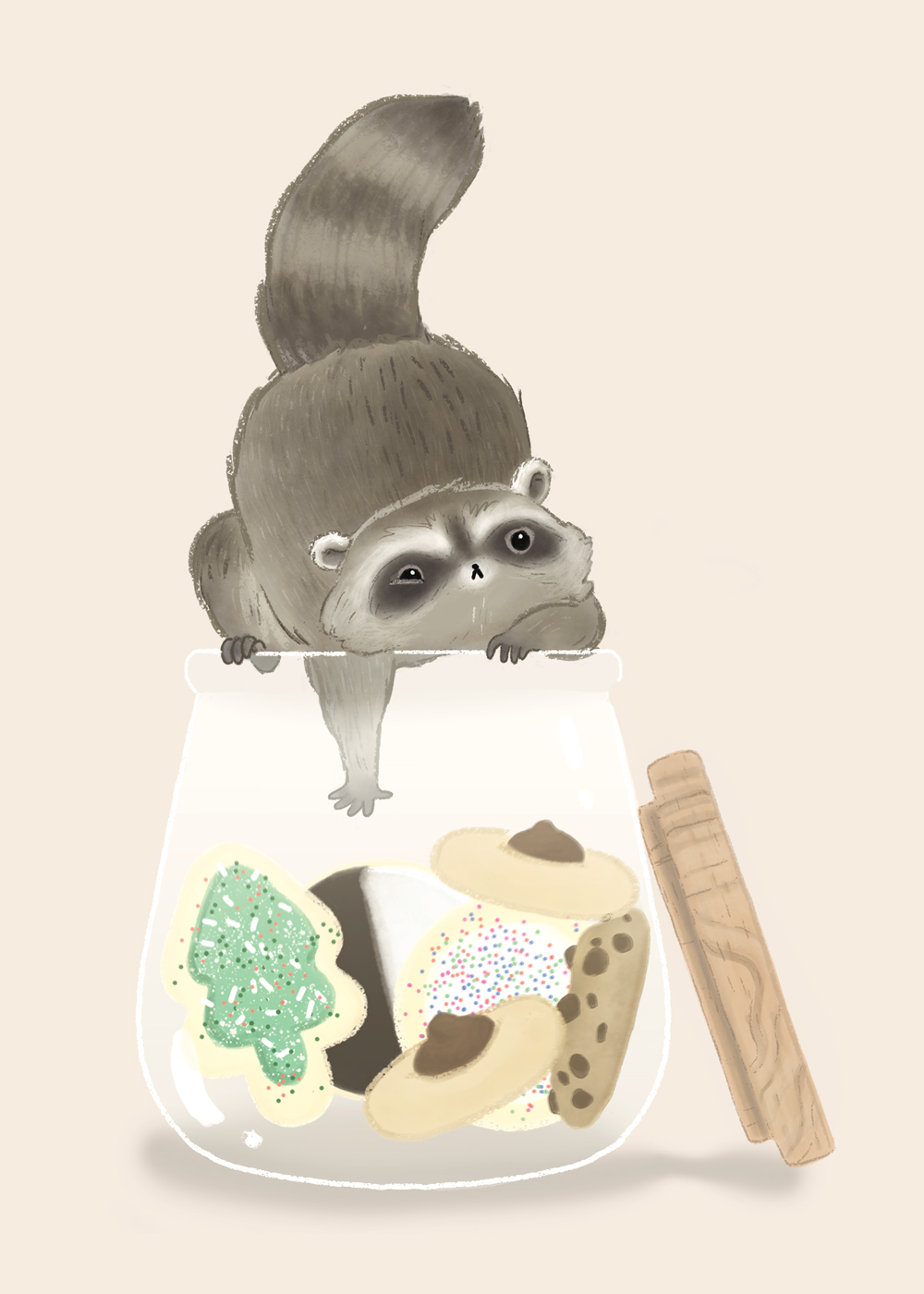 Sweet Tooth Raccoon