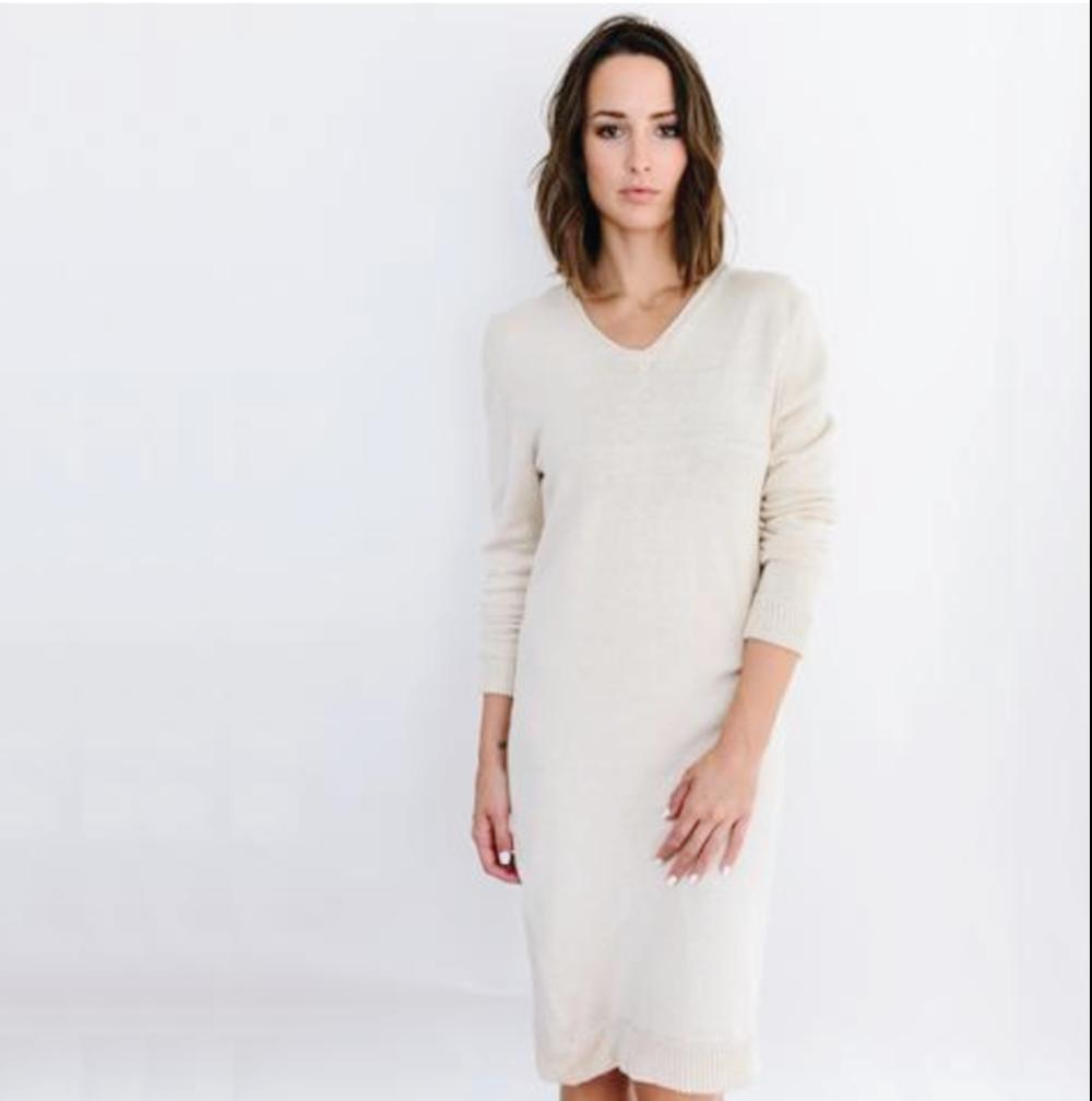 fairtrade sweater dress