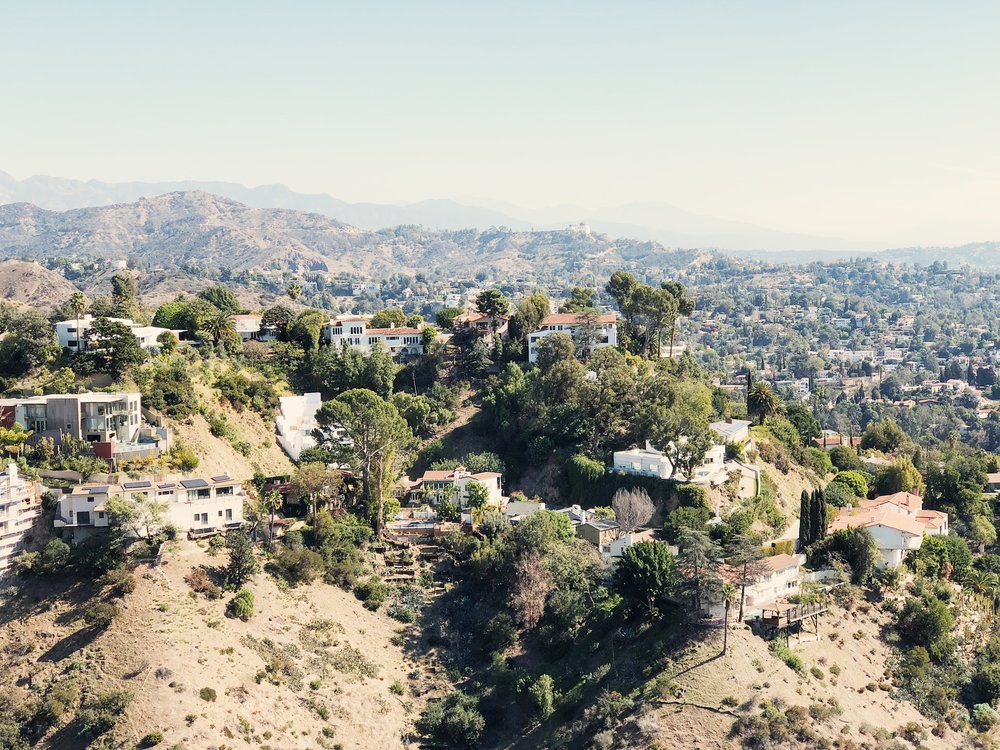 📍view from runyon canyon
