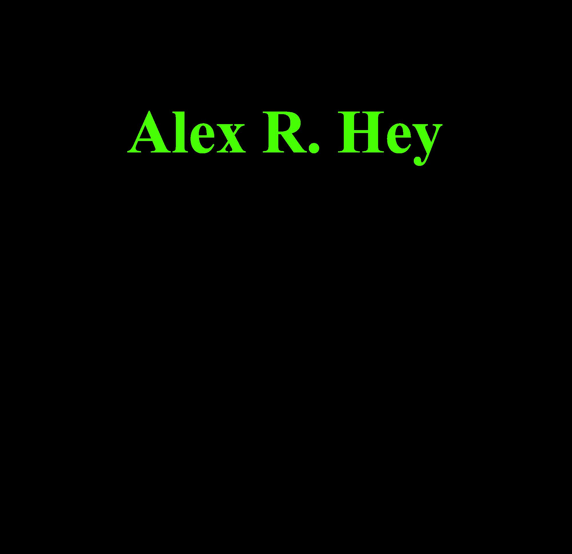 alex r hey