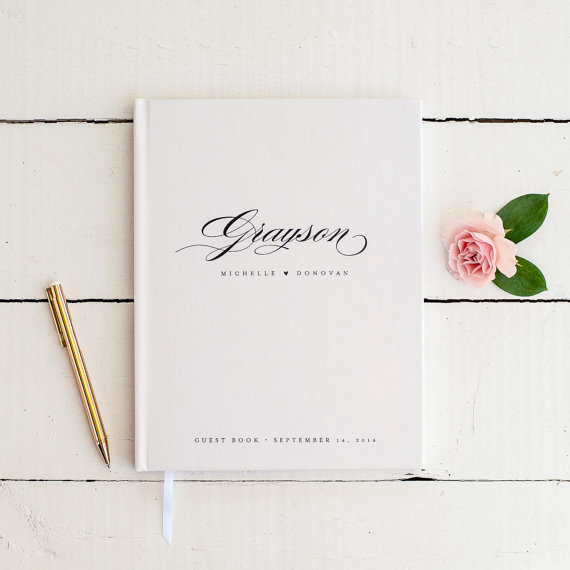 As classic as they come and personalized to boot. Etsy seller Starboard Press does a lovely job merging the personalized aspect so many people love with a neutral, clean aesthetic.