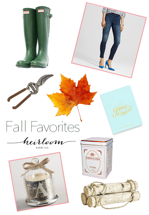 Heirloom Event Co. // Fall Essentials
