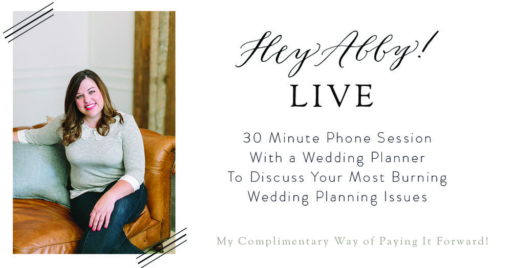 Hey Abby Live! // Complimentary 30 Min Phone Calls