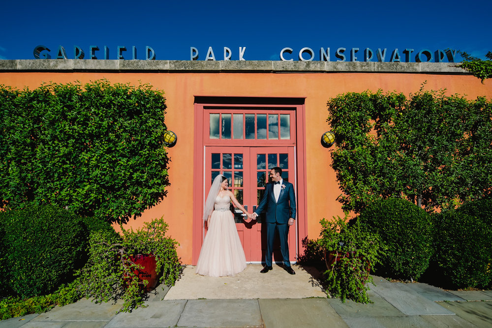 Heirloom Event Co. | Garfield Park Conservatory Wedding