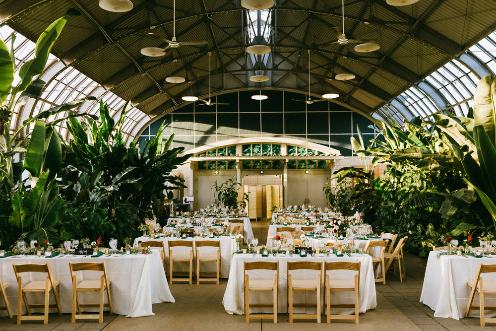 Heirloom Event Co. | Garfield Park Conservatory