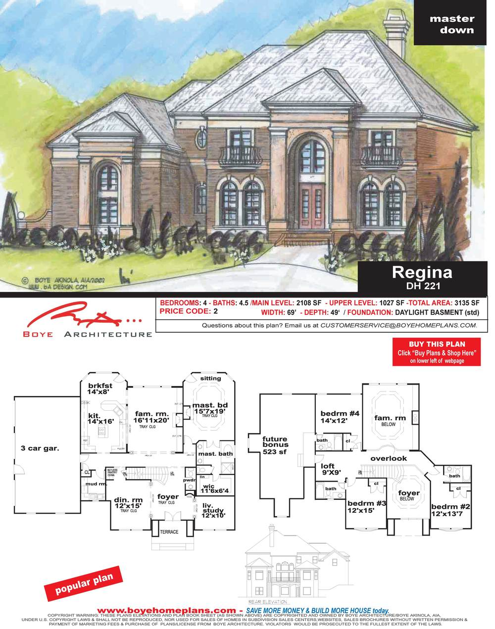 REGINA PLAN PAGE-DH 221-061508.jpg
