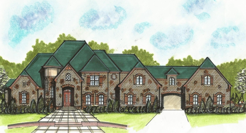 Image gallery mansion designs for Chateau novella