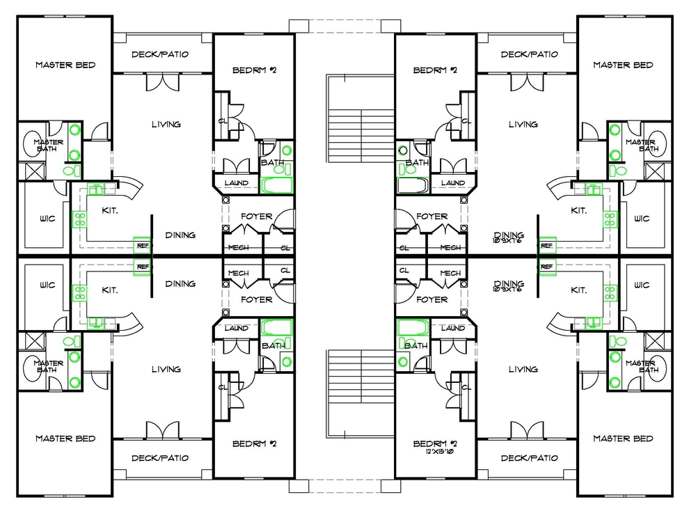 Featured Apartment Floor Plans