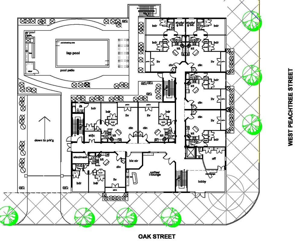 Featured apartment floor plans for 24 unit apartment building plans