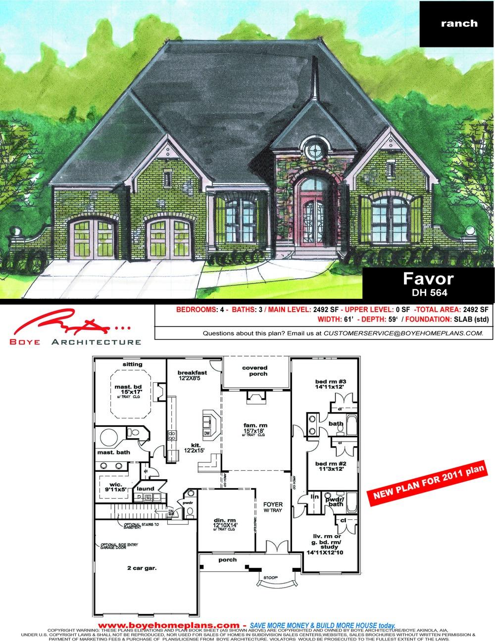 1 Ranch Plans 1500 2999 Sf