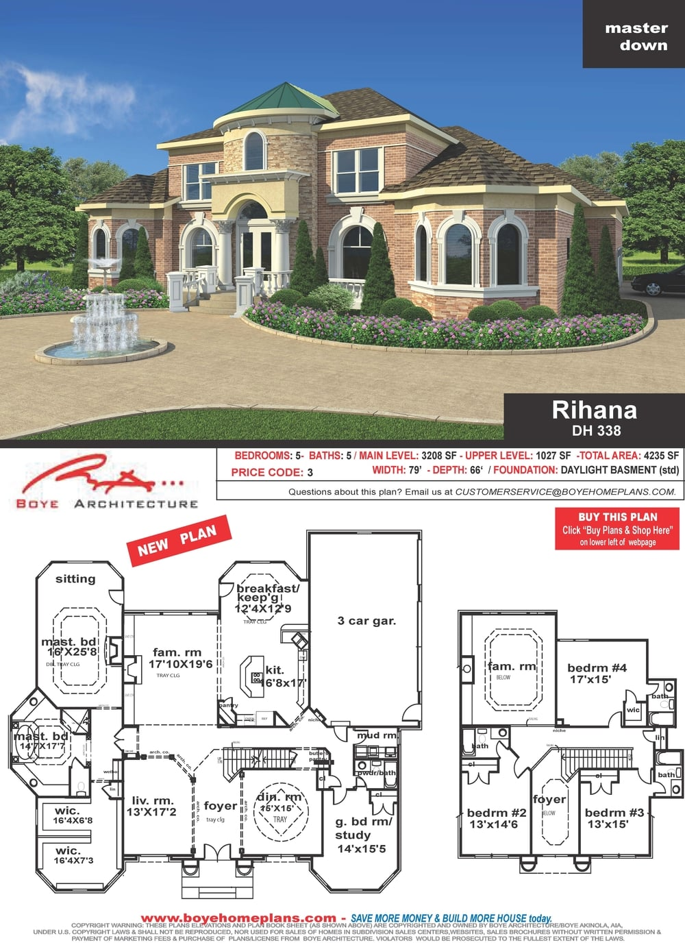 RIHANA PLAN (click picture to see featured plan)