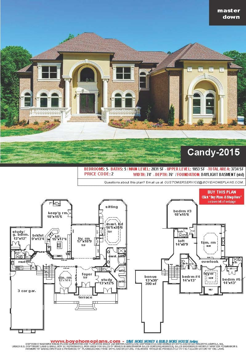 CANDY-2015 PLAN (click picture to see featured plan)