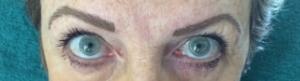Immediately After Hair Stroke Eyebrows